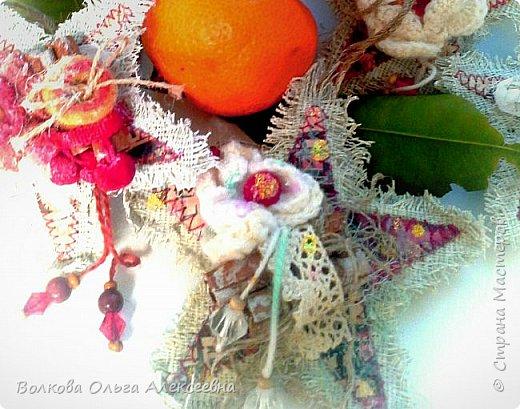 """Здравствуйте, дорогие жители """"Страны Мастеров""""! Хочу показать вам подвески- звёзды, которые сделала по МК замечательной мастерицы Татьяны (Cherry Lady).  фото 5"""