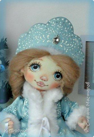 Снегурочка. Куколка текстильная. фото 6