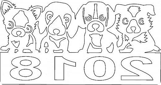"""Несколько лет ждала эта очаровательная собачка своей очереди,  обитая в моих """"картиночных"""" запасах...  Нарисовала шаблончик. И вот она - моя симпатяга - такая получилась. фото 22"""