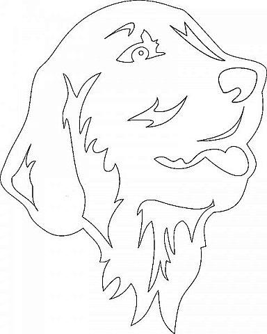 """Несколько лет ждала эта очаровательная собачка своей очереди,  обитая в моих """"картиночных"""" запасах...  Нарисовала шаблончик. И вот она - моя симпатяга - такая получилась. фото 12"""