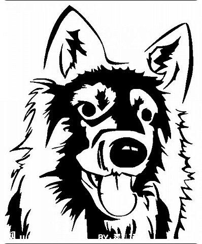 """Несколько лет ждала эта очаровательная собачка своей очереди,  обитая в моих """"картиночных"""" запасах...  Нарисовала шаблончик. И вот она - моя симпатяга - такая получилась. фото 26"""