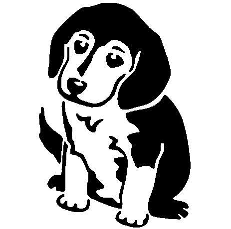 """Несколько лет ждала эта очаровательная собачка своей очереди,  обитая в моих """"картиночных"""" запасах...  Нарисовала шаблончик. И вот она - моя симпатяга - такая получилась. фото 29"""