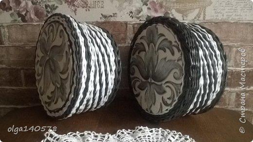 Шкатулки выполнены одним узором, только в разном цвете, чтобы показать всю красоту этого узора))) фото 1