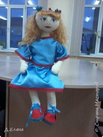 Ещё одна кукла-держатель фото 2