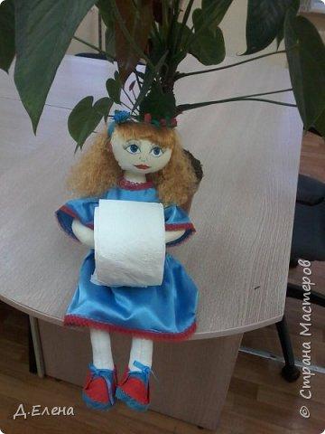 Ещё одна кукла-держатель фото 1