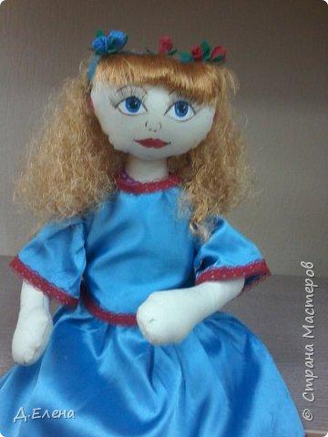 Ещё одна кукла-держатель фото 3
