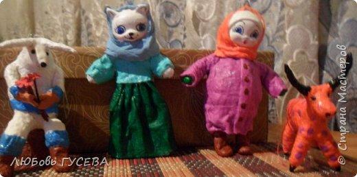 Мои первые ватные игрушки , не судите строго фото 4