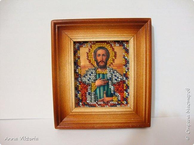 Икона Святого благоверного князя Александра Невского. фото 1