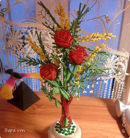Весна...8 марта..Подарок учителю сына,в школу. фото 3