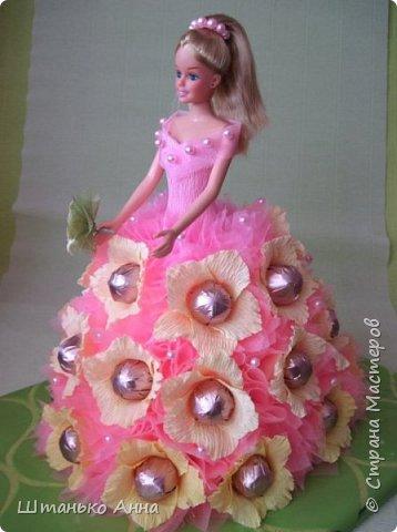 куклы-барби с оформлением конфет фото 2