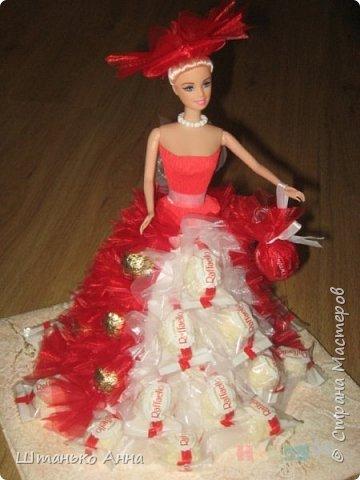 куклы-барби с оформлением конфет фото 1