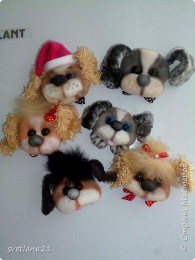 Вот и приближается Новый год, готовим подарки и главным будет символ наступающего года собака, у меня вот такие щенки. фото 7