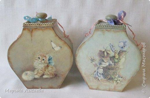 """Аааааааа, я тоже в числе победителей!!! Это мои """"Кошки-мышки"""" - набор коробов для моей кухни.  фото 2"""