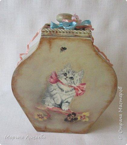 """Аааааааа, я тоже в числе победителей!!! Это мои """"Кошки-мышки"""" - набор коробов для моей кухни.  фото 11"""