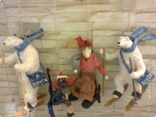 Доброго времени суток. Встречайте новые игрушки.                                                                                                                                       Новогодняя почта спешит к вам)) В VK был  МК Светы Ивановой-Хачатурян. Спасибо ей,мишки потрясающие))) фото 11