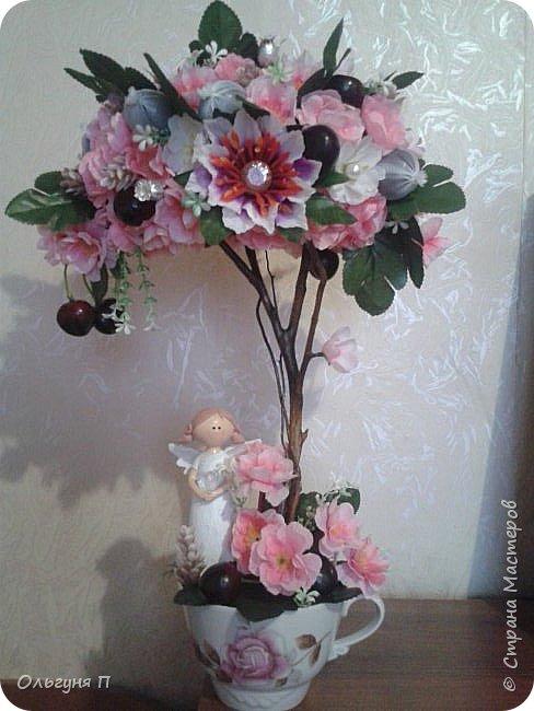 О-Ханами-праздник цветения сакуры в Японии...Добрый день, уважаемые жители Страны Мастеров.... Хотя в Стране царит новогоднее настроение, у меня на душе весна.....Я к вам в гости с очередной сакурой.... фото 1