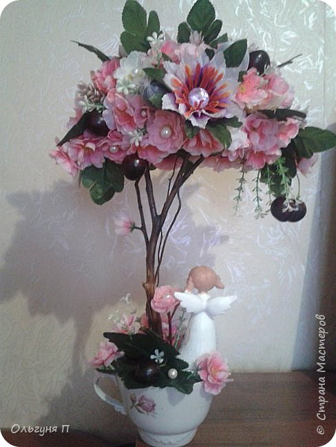 О-Ханами-праздник цветения сакуры в Японии...Добрый день, уважаемые жители Страны Мастеров.... Хотя в Стране царит новогоднее настроение, у меня на душе весна.....Я к вам в гости с очередной сакурой.... фото 5