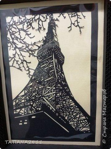 Картины вырезанные из бумаги, рамка из гофрокартона фото 3