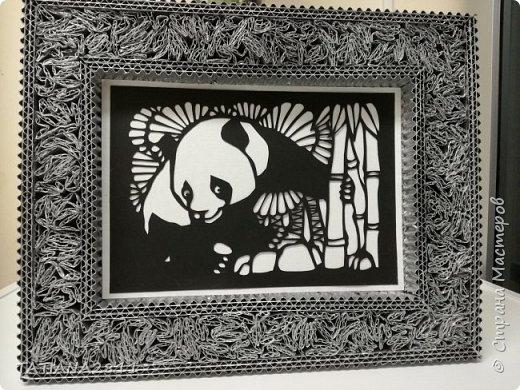 Картины вырезанные из бумаги, рамка из гофрокартона фото 4