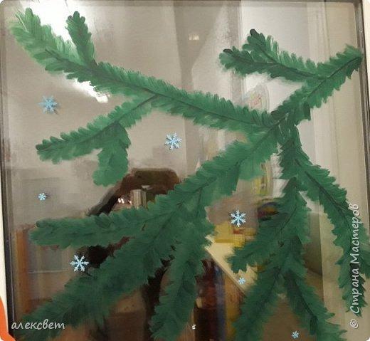 Здравствуйте мастерицы. Нашла на страницах интернета м/к снежинки, но было много заморочек. Я облегчила выполнения  снежинок.  фото 30