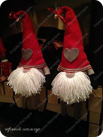 Добрый день жители страны Мастеров. Новый год не за горами.)))  Представляю Вам своих Дед Морозов и Снегурочек.  фото 16