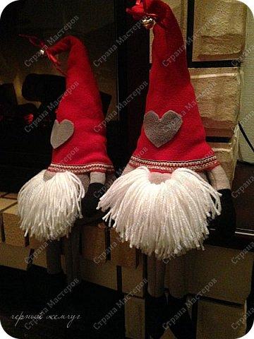 Добрый день жители страны Мастеров. Новый год не за горами.)))  Представляю Вам своих Дед Морозов и Снегурочек.  фото 17