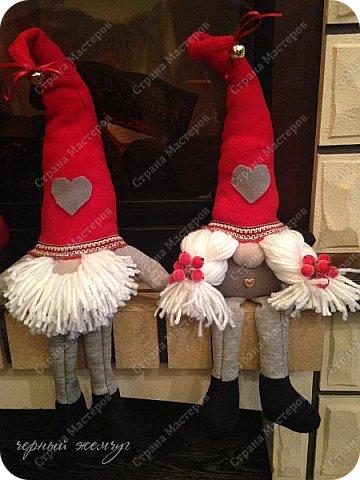 Добрый день жители страны Мастеров. Новый год не за горами.)))  Представляю Вам своих Дед Морозов и Снегурочек.  фото 18