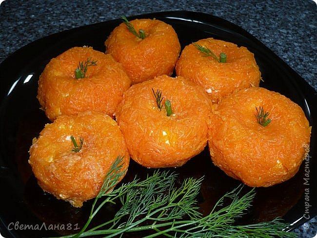 Привет Всем! Какой новогодний стол без мандарин!! Предлагаю вместе со мной сделать маленький МК по их созданию. фото 13