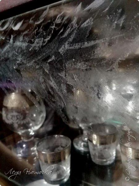 У нас сегодня был день морозных узоров по нашему адвент-календарю https://stranamasterov.ru/node/1123432  и https://stranamasterov.ru/node/1125298 . Существует много разных способов разукрасить стекла морозными узорами. Но вспомните, когда замерзают стекла какая сказка на окнах! Теперь нам этого не увидеть дома,т.к. наши стеклопакеты не дают такой возможности. А как хочется красоты...  Оказывается, что ее легко создать дома самим! С удовольствием поделюсь опытом))) фото 6