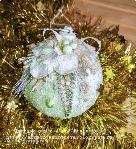 Всем привет!!!!! А сегодня шары мятные ( с зеленым оттенком) Действия все те же самые, только цвет другой. фото 2