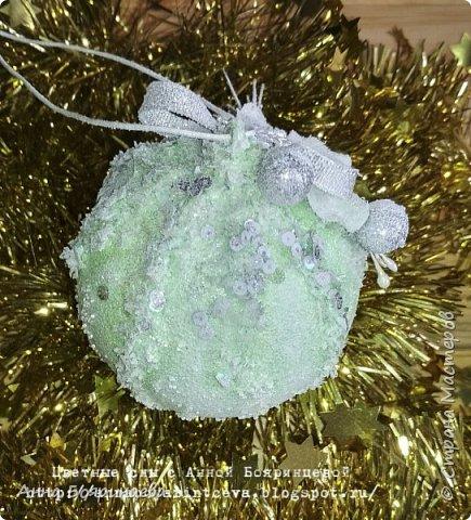 Всем привет!!!!! А сегодня шары мятные ( с зеленым оттенком) Действия все те же самые, только цвет другой. фото 13