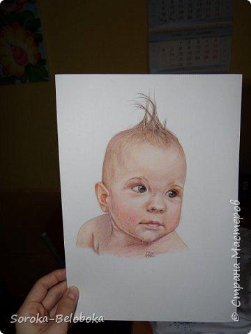 """""""Ирэн"""" Портрет, акварель. фото 6"""