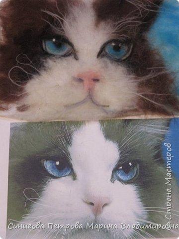 Петрова Марина- рисунок из шерсти фото 8