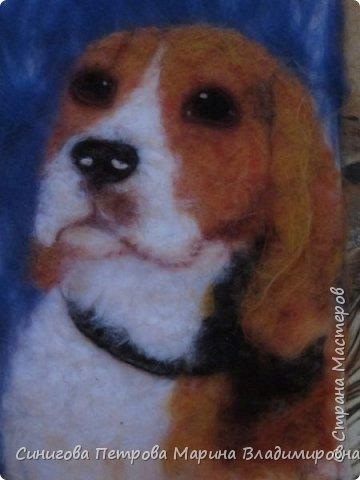 Петрова Марина- рисунок из шерсти фото 9