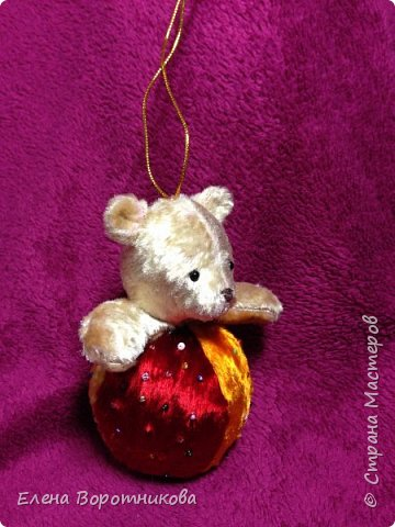 Мишка- погремушка, тедди фото 2