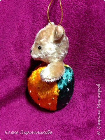 Мишка- погремушка, тедди фото 3