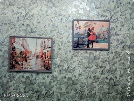 "Моя первая работа ""Улочка Парижа"" фото 5"