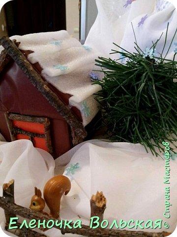 "Поделка в детский сад на выставку ""Зимушка-Зима"" фото 5"