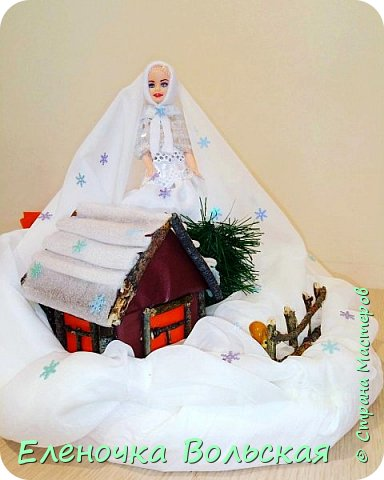 "Поделка в детский сад на выставку ""Зимушка-Зима"" фото 6"