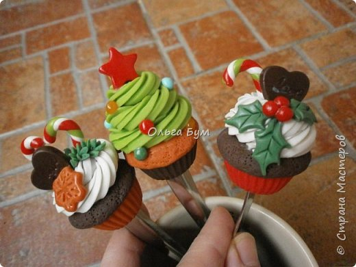 Вкусные ложки на Новый год фото 1