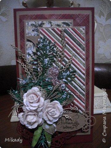 Выкладываю  открытки новогодние. Смотрим...  фото 1