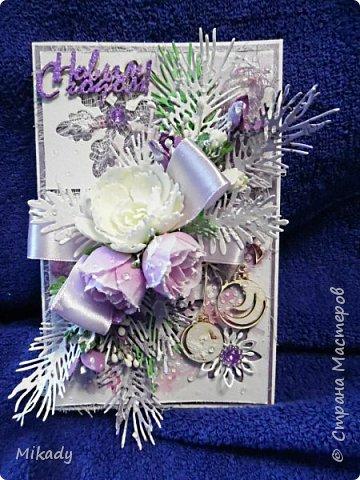Выкладываю  открытки новогодние. Смотрим...  фото 2