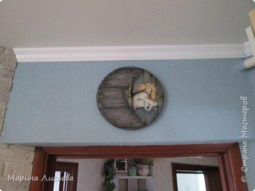 Здравствуйте, мои дорогие жители СМ!  Вчера отложила все дела и сотворила себе часы для кухни. фото 12