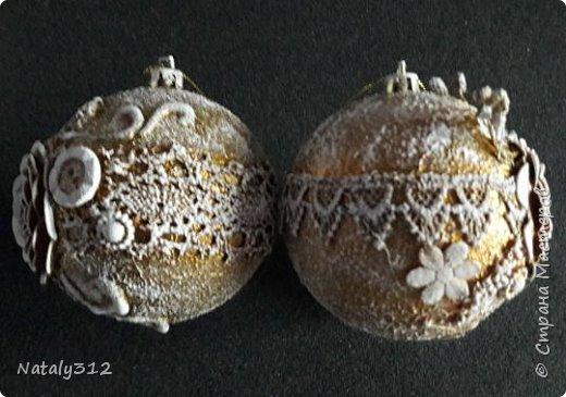 В прошлом году сделала себе такие шарики, так нашлось много желающих возыметь такие же. Вот и взялась за их изготовление. фото 11