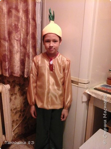 Привет всем.  В школе праздник осени сыну дали слова выучить и костюм придумать.  фото 5