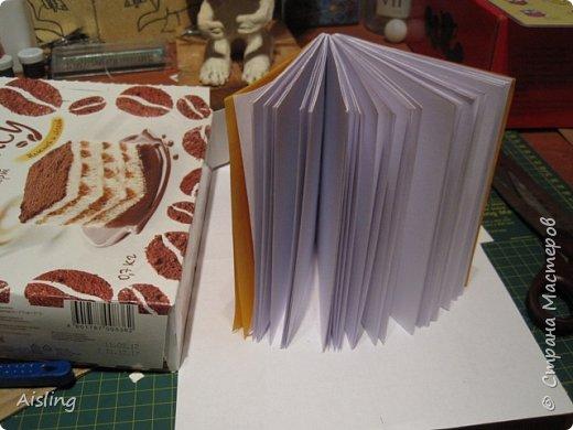 Записная книжка с кельтским четырёхлиственным клевером. (подарок к Новому Году) Кельтские узлы всегда несли защиту и поддержку, кроме того имеют много других качеств.. Одно из свойств четверного узла - удача.. ну а остальное - уже совсем другая история.. :)  Книжку делаю первый раз.. фото 2