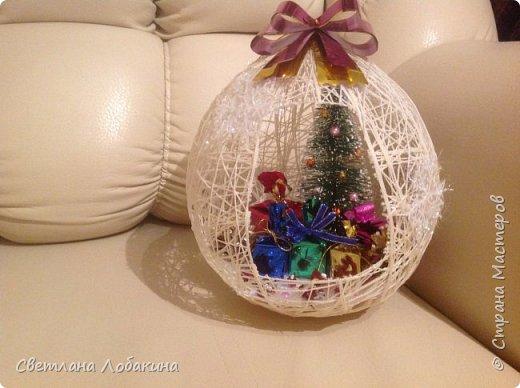 Вот такие шарики у меня получились фото 4