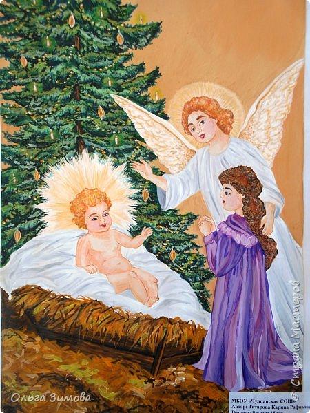"""Вот  незаметно подкрался Новый год Все мы долго готовились к его встрече. Хочу показать вам конкурсные работы детей на конкурс """"Рождественская звезда"""" подведение и награждение состоится на Старый новый год."""