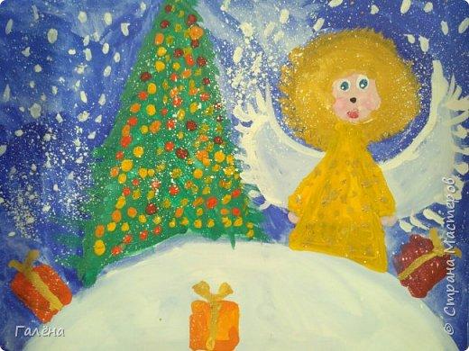 Добрый день,дорогие жители Страны Мастеров.От всей души поздравляю С Новым Годом! Самый главный подарок, который нам дарит Новый Год - это надежда на лучшее и возможность получить ещё один шанс. Шанс простить, сделать лучше, сделать больше, дать больше, сильнее любить.Желаю вам найти самое ценное, сохранить самое дорогое, получить долгожданное, отпустить уходящее, забыть грустное, простить несправедливое и приобрести лучшее!!!  В сентябре начался новый учебный год.У нас скопилось много интересных работ.Спешу поделиться с вами.  Летнее утро. фото 26