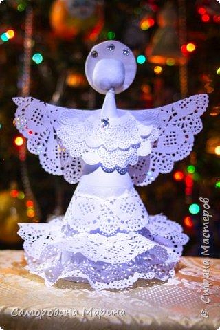 Пусть Ангел в Рождество исполнит заветные мечты.